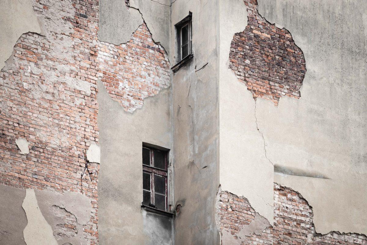 Bauschaden an Fassaden oder Wasserschaden